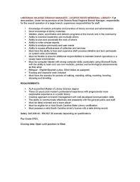 cover letter job description for library assistant job description