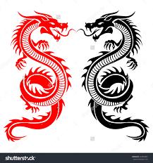 download dragon tattoo red and black danielhuscroft com