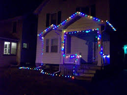 Christmas Lights On House by My First Real Christmas Lights