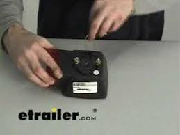 how to wire trailer lights etrailer com youtube