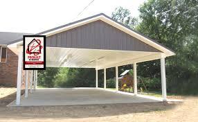 Garage With Carport Carports U2014 Shed Metal Storage Shed Shed Custom Shed Carport