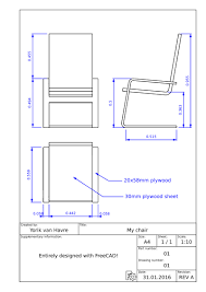 How To Make Blueprints For A House by Manual Generating 2d Drawings Freecad Documentation
