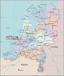 The Netherlands Map Escape 12 The Netherlands