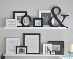 Wooden Shelf Gallery Rails by The 25 Best Gallery Wall Shelves Ideas On Pinterest Decorating