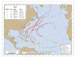 Tripadvisor Map 2014 Atlantic Hurricane Season