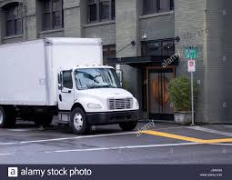 luxury semi trucks cabs modern white semi truck of middle duty and size with day cab and