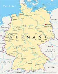 map of gemany map of germany guide of the world