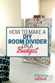 diy room divider diy room divider on a budget organizing moms