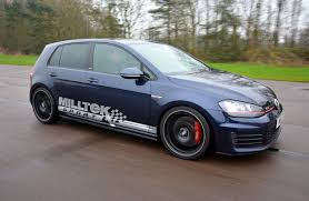 car volkswagen side view mk7 volkswagen golf gti milltek sport photo u0026 image gallery