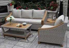 desmond wicker u0026 teak coffee table u0026 reviews birch lane