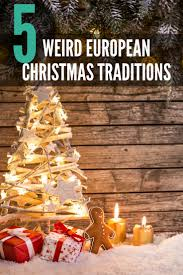 5 european traditions