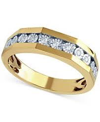 Yellow Gold Wedding Rings by Yellow Gold Womens Engagement And Wedding Rings Macy U0027s