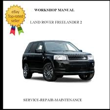 2006 2010 land rover freelander 2 ii official workshop service