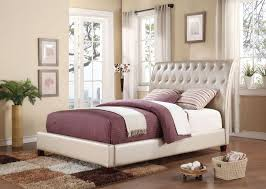 Tufted Bed Queen Bed Frames Upholstered Bed With Storage Upholstered King Bed
