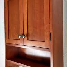 Cherry Bathroom Wall Cabinet Custom Bathroom Cabinetry Custommade