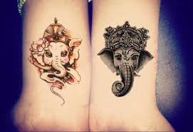 ganesha tattoo on shoulder minotaur ganesha elephant temporary tattoo temporary tattoo