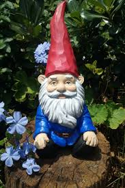 gnome relaxing garden gnome 5 6 inches tall solid