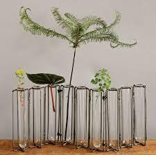 Test Tube Vases Wholesale Botanist Metal And 9 Glass Test Tubes Jointed Vase Tulipiere Et