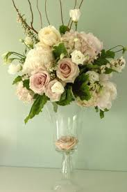 blush pink and green wedding centerpieces the wedding