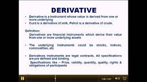 Define Binding Price Floor by Derivative 1 In Hindi U0026 English Stock Market Training Bangalore
