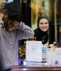 tyga yellow bentley kendall jenner reveals she u0027s dating rapper a ap rocky in the same
