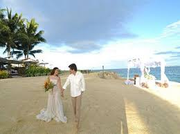 wedding ceremony phlets crimson resort and spa mactan travelbook ph