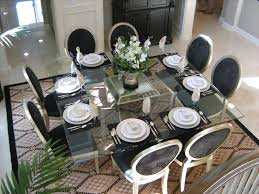 Glass Dining Table And 8 Chairs Square Glass Dining Tables Inside Square Glass Dining Table