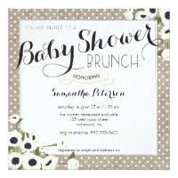 baby brunch invitations burlap baby shower invitations announcements zazzle