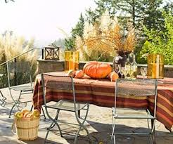 feasting alfresco outdoor thanksgiving tables
