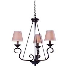 design house millbridge 3 light oil rubbed bronze chandelier