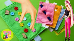 creative ideas toys spring learn colors for children felt