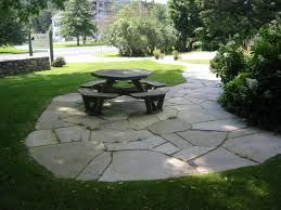 stone paver patio cost square patio stones flagstone patio cost back yard flagstone