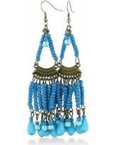 Beaded Turquoise Chandelier Deal Alert Turquoise Chandelier Earrings