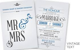 wedding invitations auckland 150 personalised wedding invitations grabone