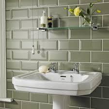 homebase bathroom ideas sage metro tiles homebase in the sale at 6 99 per pack