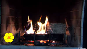 real fire meditation winter fireplace wood crackling sounds
