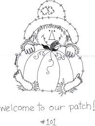 Fall Halloween Coloring Pages by Pumpkin Patch Painted Jar Teaching Safety Kid Printables And