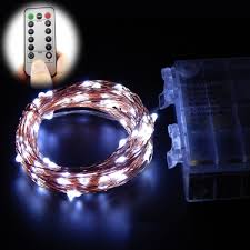 battery operated led string lights waterproof 60 leds 16 5ft 8 modes waterproof warm white battery operated led