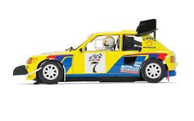 peugeot 205 t16 scalextric 1 32 scale peugeot 205 t16 slot car amazon co uk toys