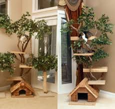 articles with modern cat tree house tag modern cat house photo