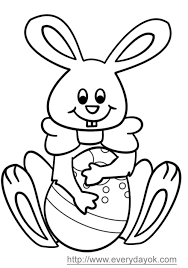 adbanasa easter bunny coloring book pictures