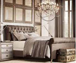 king bed frame french provincial chesterfield new black brown grey