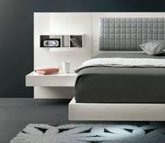 stylish platform bed with nightstands bedroom ideas platform bed