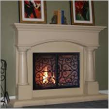 awesome fireplace mantels ideas with white color and astonishing
