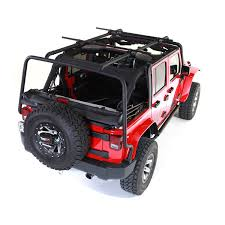 rugged ridge 11703 02 sherpa roof rack 07 15 jeep wrangler
