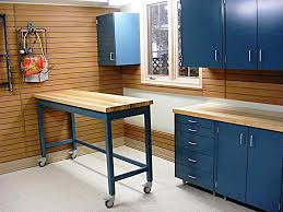 garage countertop ideas home designs cool garage workbench garage