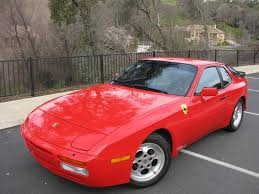 turbo porsche red 1986 porsche 944 turbo a classic cars today online
