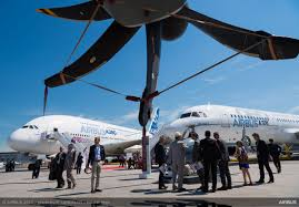 40 billion of new commercial aircraft orders at paris air show 2017