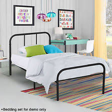 Twin Size Bed And Mattress Set by Twin Size Beds And Bed Frames Ebay