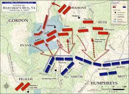 Battle Of New Orleans Map by 150 Years Ago Today The Battle Of Hatcher U0027s Run February 5 1865
